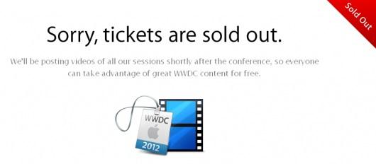 Apple WWDC 2012: annullati alcuni biglietti già acquistati