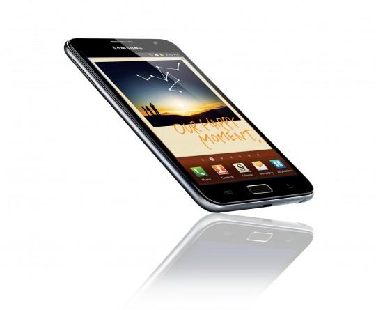 Samsung Galaxy Note: disponibile firmware personalizzato AOSP basato su Android 4.0.3 ICS