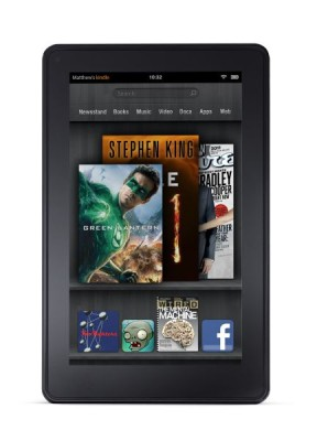 Il tablet Amazon Kindle Fire continua ad avere forte successo negli USA