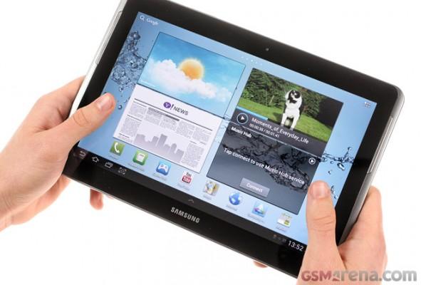 Samsung Galaxy Tab 2 10.1: video di anteprima dell'interfaccia