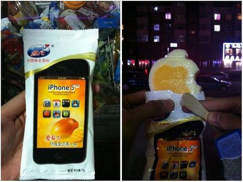 Avvistato iPhone 5 a Taiwan, ma è solo un gelato