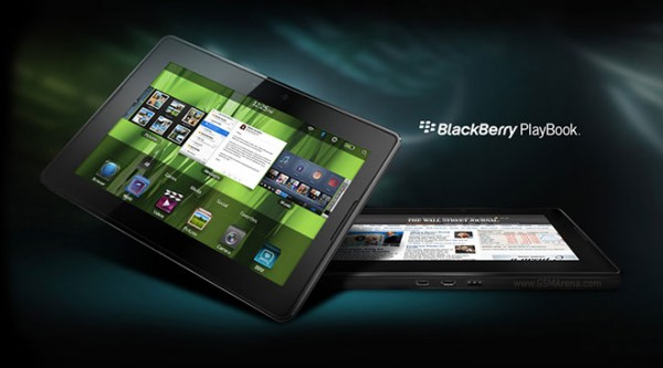 RIM ha venduto fino ad oggi un milione di tablet Blackberry Playbook