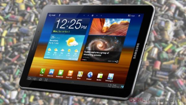 Samsung Galaxy Tab 7.7: ecco quanto dura la batteria