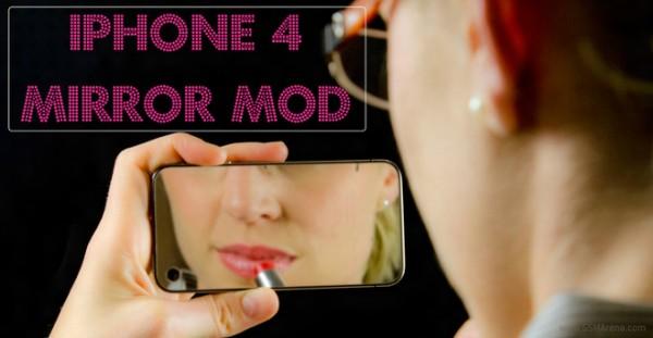 Apple iPhone 4S: come montare uno specchio sulla cover posteriore