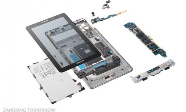 Galaxy Tab 7.7 smontato pezzo per pezzo da Samsung