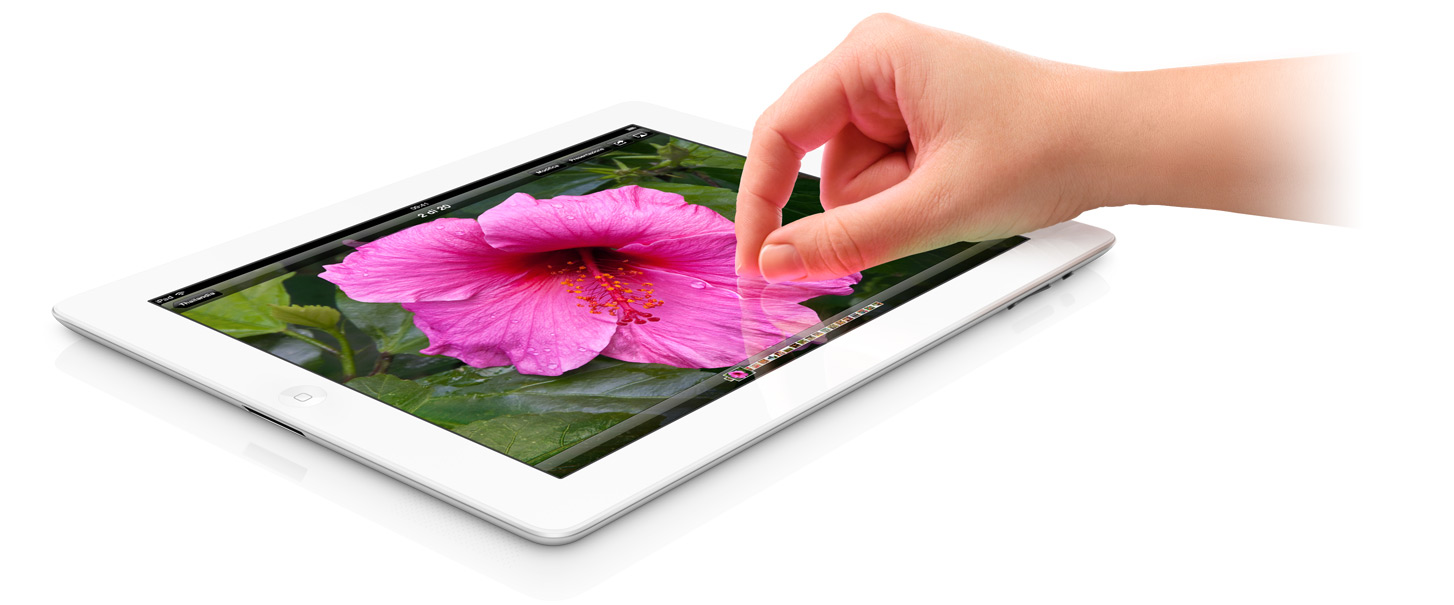 Sharp e LG Electronics produrranno in futuro i Retina Display del nuovo iPad