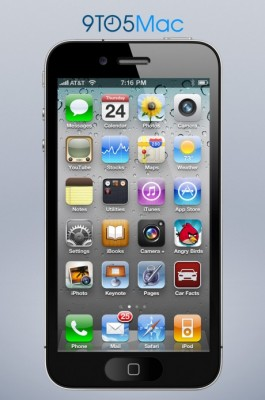 Apple iPhone 5: nuovo concept con display da 4 pollici