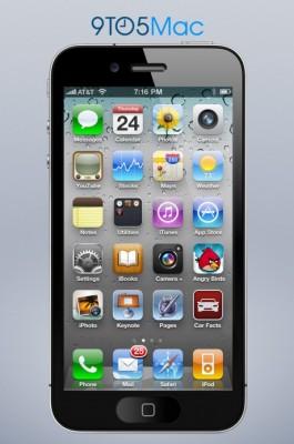 Apple iPhone 5: nuovo concept con display da 4 pollici