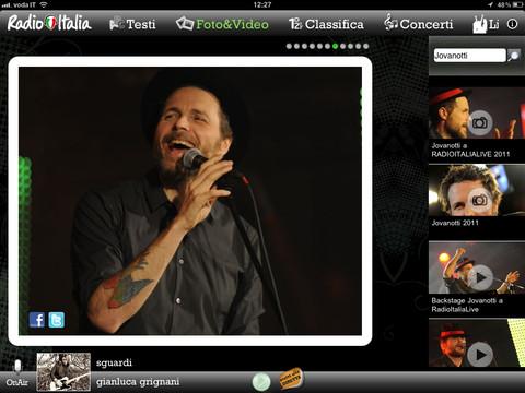 iRadioItalia è la nuova app ufficiale per iPad di Radio Italia
