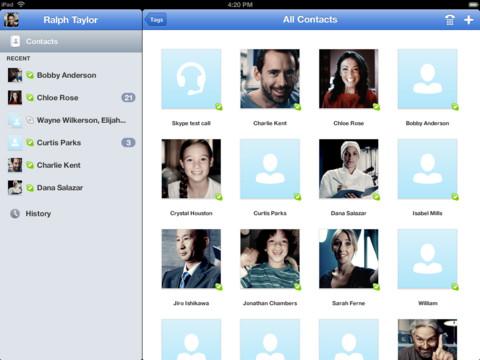 Skype si aggiorna per supportare il Retina Display del nuovo iPad