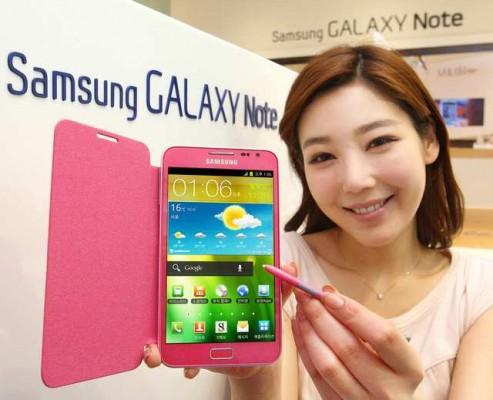 Samsung annuncia ufficialmente il Galaxy Note Berry Pink per la Corea del Sud