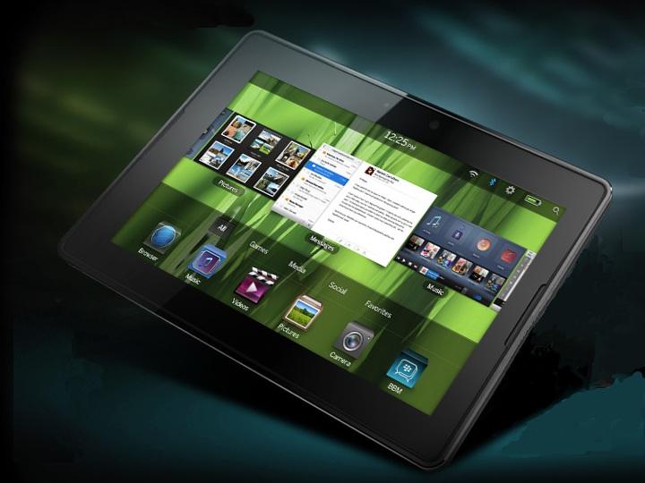 Blackberry Playbook, test in corso del modello 4G LTE