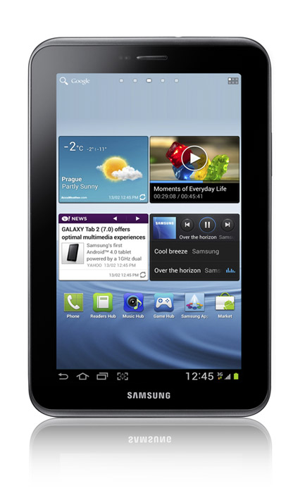 Samsung annuncia i prezzi ufficiali dei tablet Galaxy Tab 2