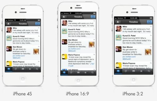 Apple iPhone 5: nuova immagine di mockup con schermo 16:9