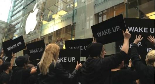 Samsung non ha organizzato la campagna pubblicitaria Wake-Up contro Apple in Australia