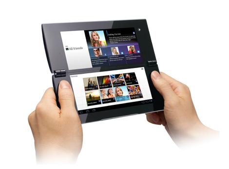 Sony Tablet P si aggiorna ad Android 4.0 ICS dal 24 Maggio