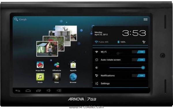 Arnova 7 G3: caratteristiche del nuovo tablet Android economico