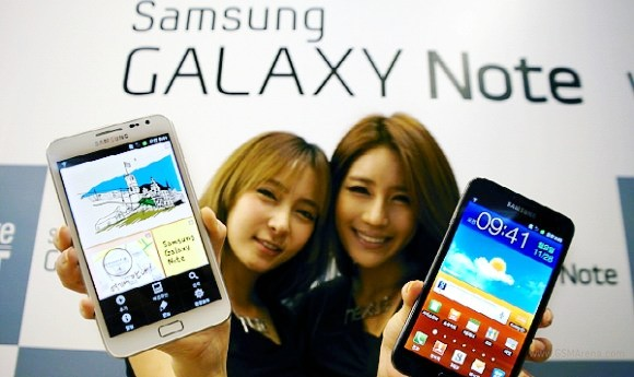 Samsung Galaxy Note: iniziato il rilascio dell'aggiornamento ad Android 4.0 ICS