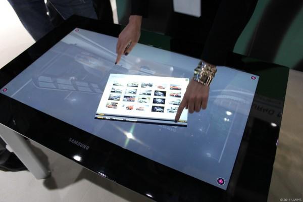 Samsung SUR40, un nuovo tablet con diagonale di ben 40 pollici