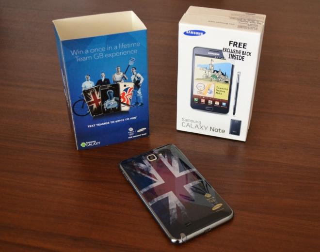 Samsung Galaxy Note: in arrivo l'edizione limitata Olympic Edition