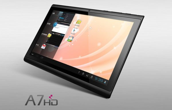 Hyundai A7HD: nuovo tablet Android 4.0 ICS economico