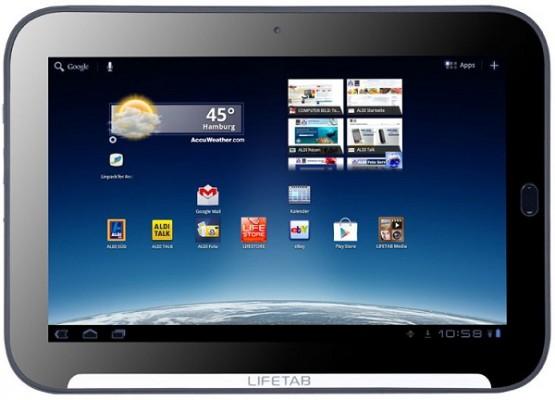 Medion Lifetab P9516: prima immagine del nuovo tablet Android