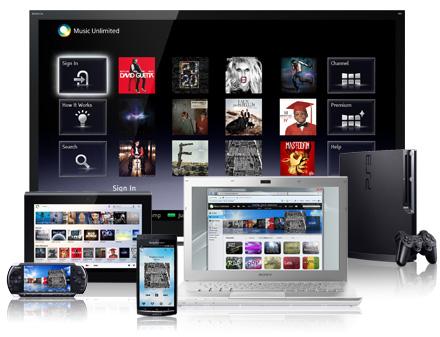 Sony rilascia l'app Music Unlimited per iOS nell'App Store