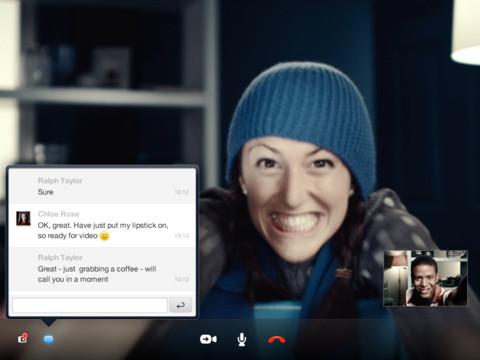 Skype per iPad si aggiorna alla nuova versione 4.0