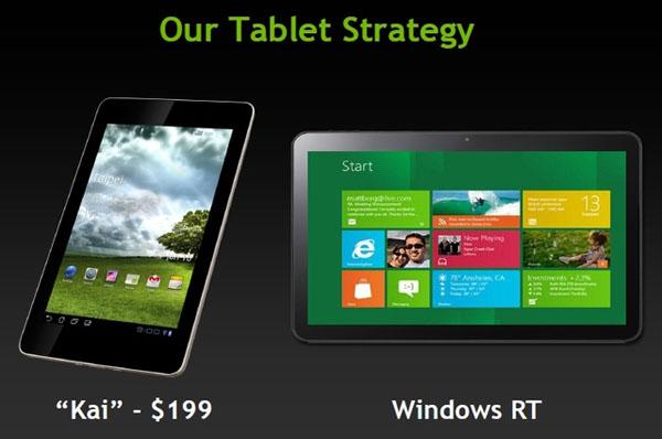 NVIDIA Kai è la soluzione perfetta per sviluppare tablet Android da 200 dollari