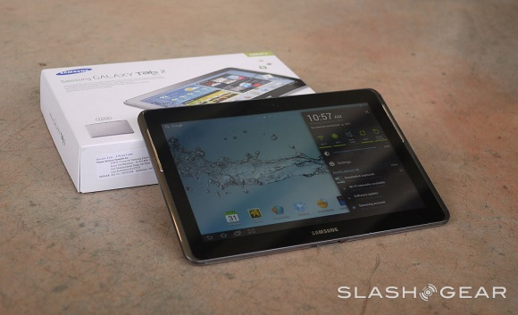 Samsung Galaxy Tab 2 10.1: recensioni positive dai siti americani