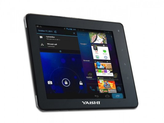 Yashi YPad A8: nuovo tablet da 8 pollici con Android 4.0 ICS