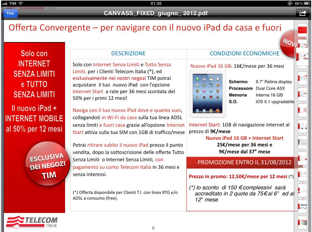 bolletta telecom pdf