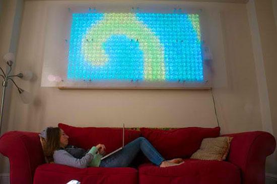 Ingegnere spiega come costruire un enorme display led for Quanto costruire una casa da 3000 piedi quadrati