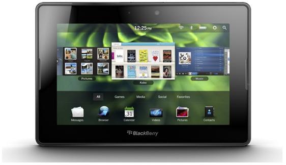 Blackberry Playbook: diciamo addio alla versione da 16 GB
