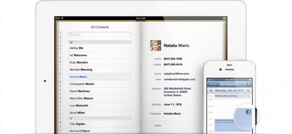 Apple iOS 6.0: arriva l'integrazione completa con Facebook
