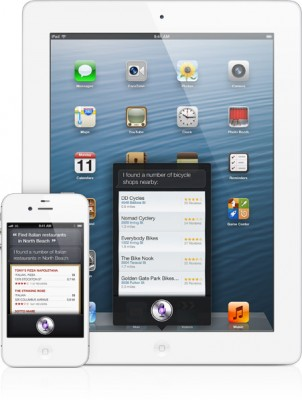 Apple iOS 6.0: Siri arriva anche sul nuovo iPad, in italiano