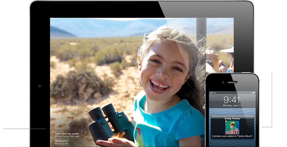 Apple iOS 6.0: Photo Streams per la condivisione istantanea delle foto