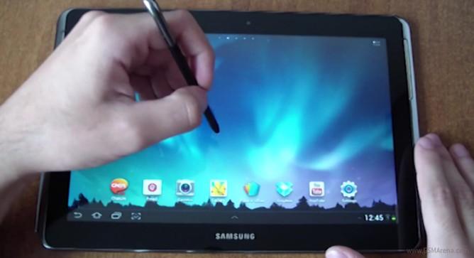 Samsung Galaxy Note 10.1: nuovo video della versione quad core