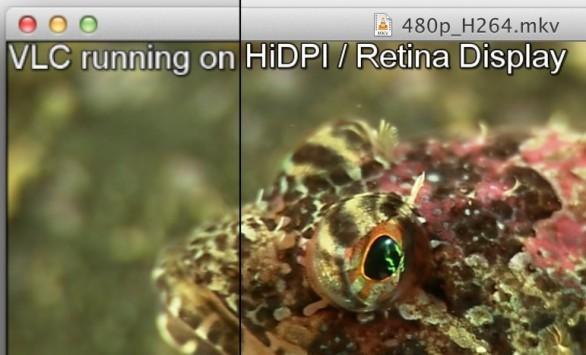 VLC 2.0.2 supporta il Retina Display del Macbook Pro di nuova generazione