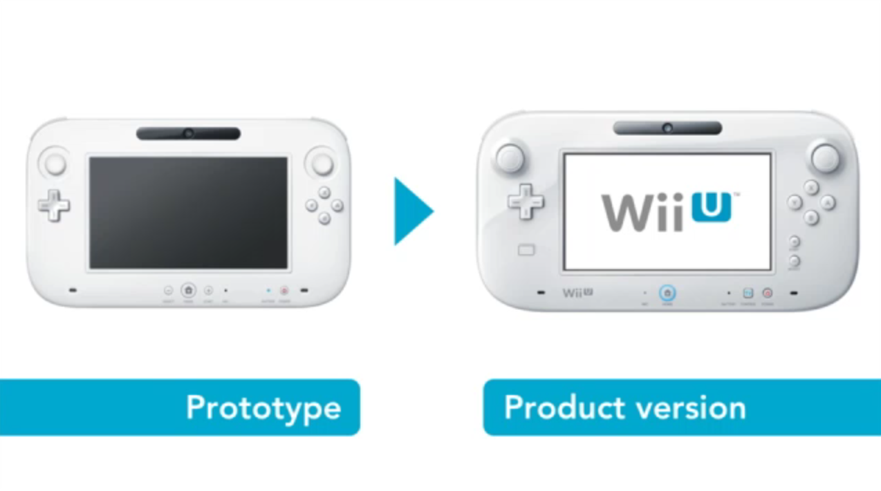 Nintendo Wii U: presentata la versione definitiva del tablet controller