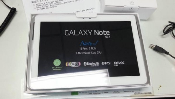 Samsung Galaxy Note 10.1: svelate le nuove specifiche hardware