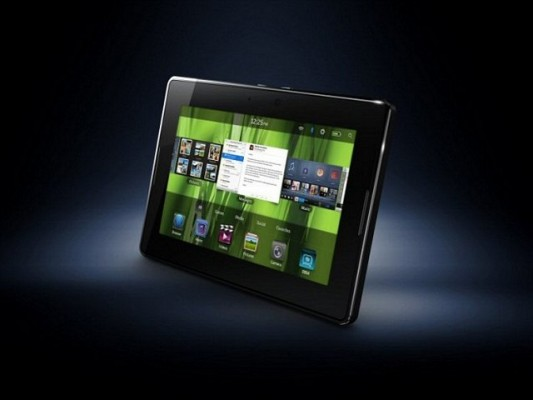 Blackberry PlayBook 4G LTE disponibile dal 31 Luglio