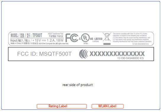 ASUS TF500T: nuovo tablet Android con schermo da 10.1 pollici