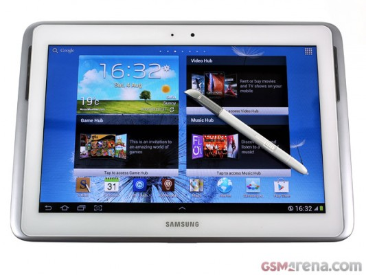 Samsung Galaxy Note 10.1: video anteprima sul suo funzionamento