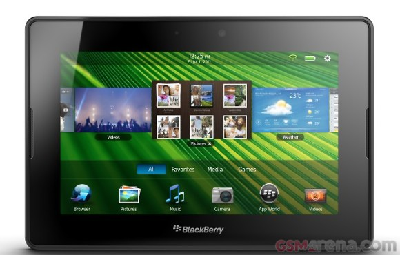 Blackberry Playbook 4G: in Canada dal 9 Agosto con processore più veloce