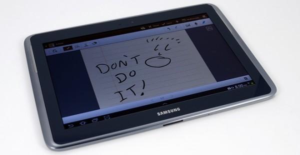 Samsung Galaxy Note 10.1 è facile da riparare