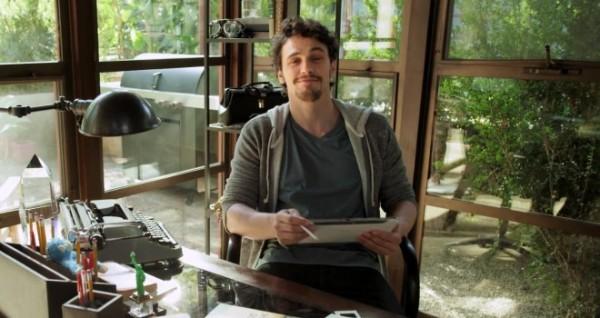 Samsung Galaxy Note 10.1: video pubblicitario con James Franco