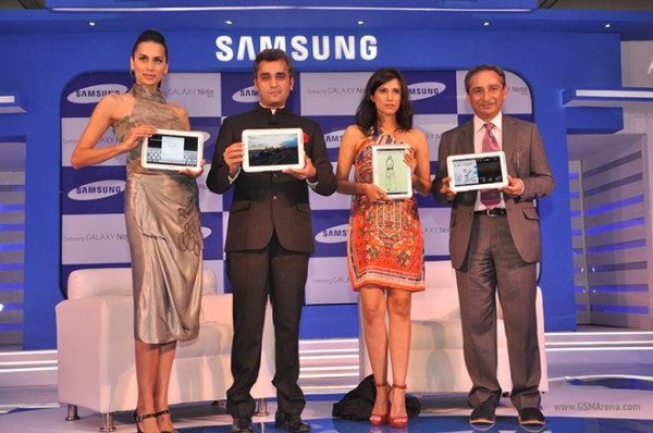 Samsung Galaxy Note 10.1 arriva in India con il nome di Galaxy Note 800