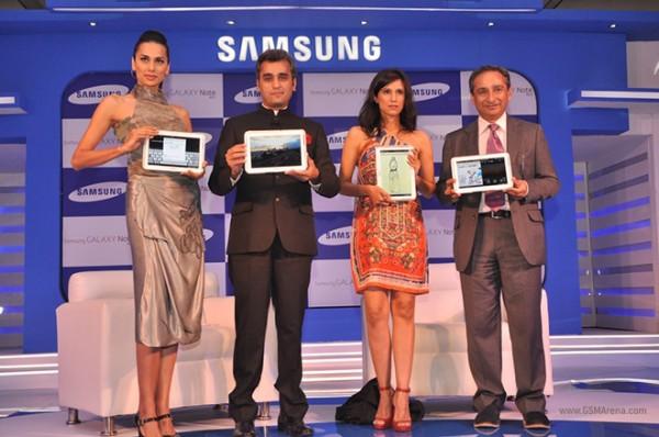 Samsung Galaxy Note 10.1 arriva in India con il nome di Galaxy Note 800