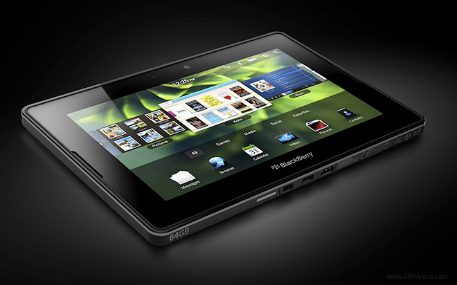 Blackberry Playbook 4G disponibile in Canada a 350 dollari